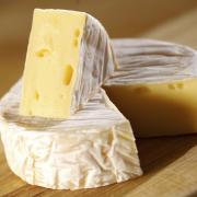 Gepaneerde camembert