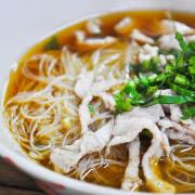 Champignons-tauge soep