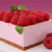 Cheesecake met frambozen recept