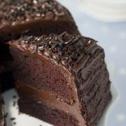 Chocoladetaart uit een pannetje