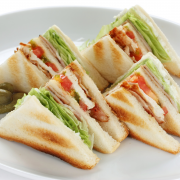 Club sandwiches recept