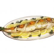 Gestoomde makreel met citroensausje