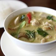 Romige groenten curry