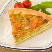 mini quiche met sjalot en gamba recept