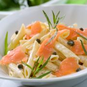 Pasta zalm-salade