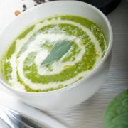 Romige spinaziesoep recept