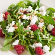 Salade met geitenkaas recept
