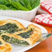 Spinazie quiche recept