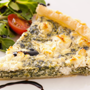Spinazie-quiche