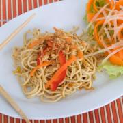 Thaise bami (familiegerecht) recept