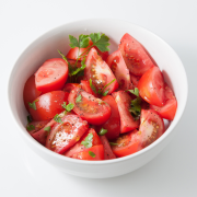 Tomatensalade met sardientjes