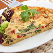 Vegetarische quiche recept