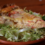 Zalm quiche recept