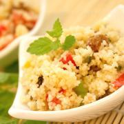 Zoete couscous-salade