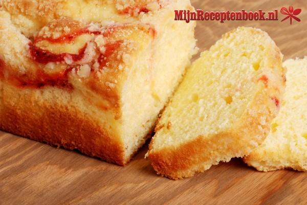 Peer en gember cake