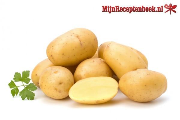 Aardappel preischotel met spekjes
