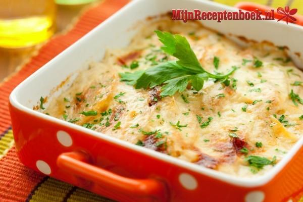 Aardappelgratin recept