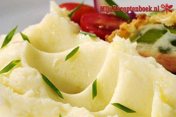 Aardappelpuree met knolselderij