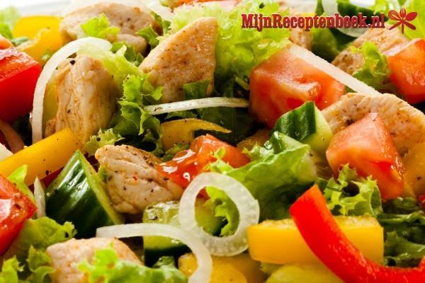 Aardappelsalade met gyros