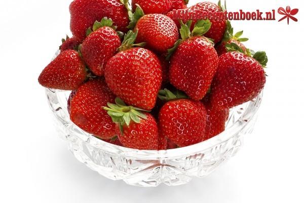 Aardbeien met honing recept