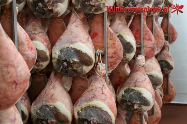 Snijbonen met ham