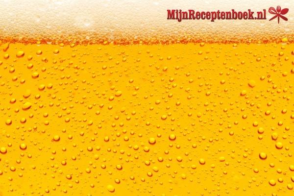 Gevulde rollade met biersausje