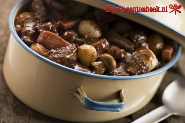 Steakpannetje à la boeuf stroganoff