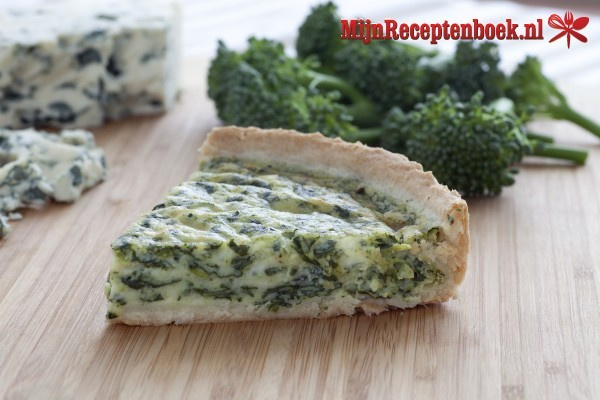 Broccoliquiche recept