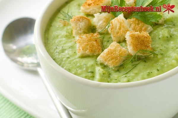 Broccolisoep recept