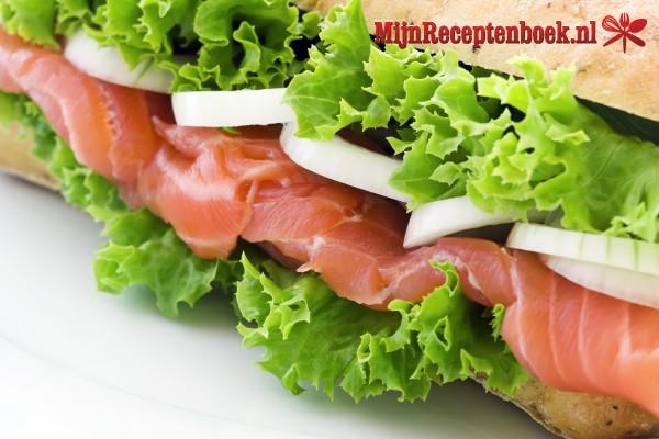 Broodje zalm au nella