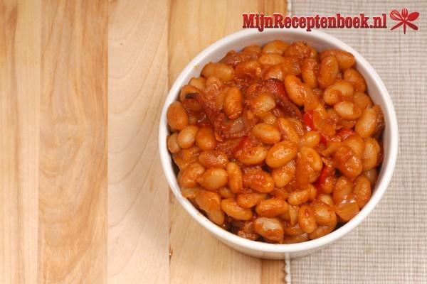 Mexicaans meatloaf met Mexicaanse groentes