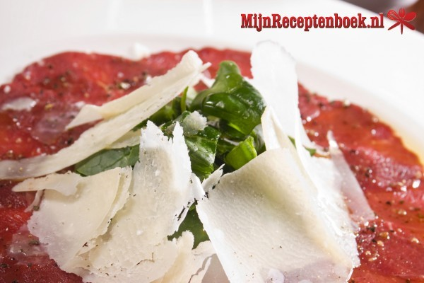 Carpaccio traditionele recept