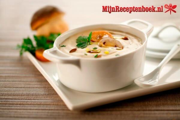 Champignonsoep recept