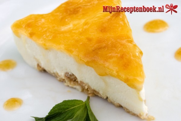 Cheesecake repen met karamel recept
