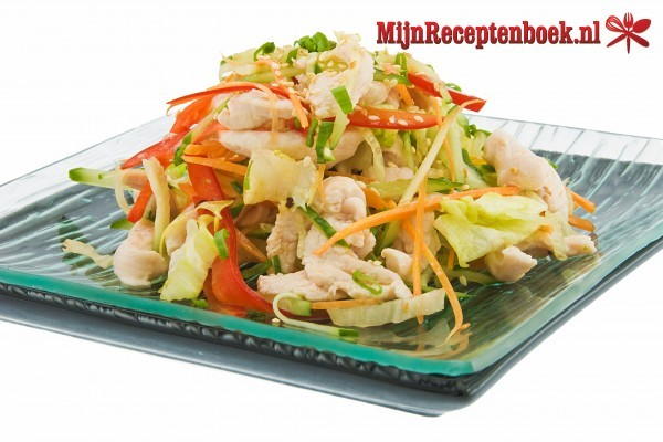 Chinese koolsalade recept