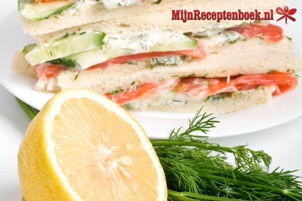 Clubsandwich zalm