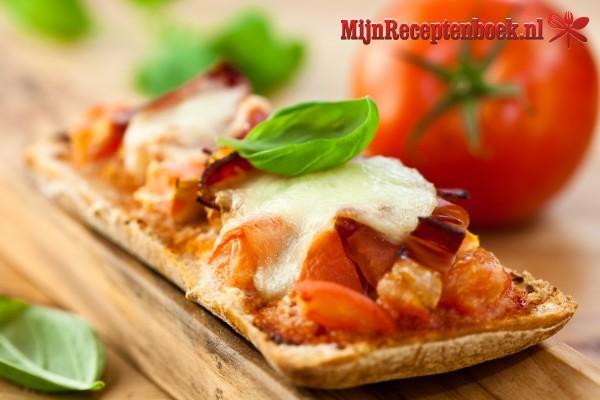 Crostini mozzarella