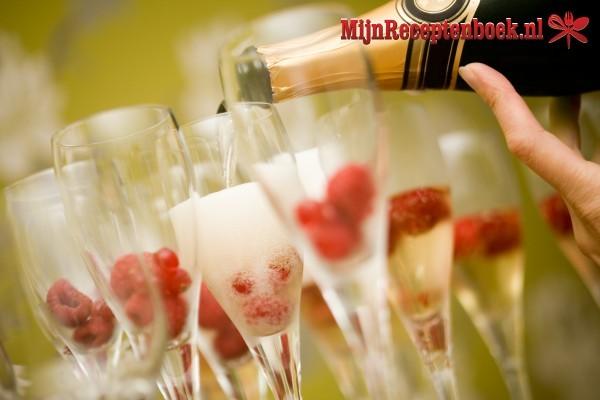 Frambozen-Champagne Sorbet