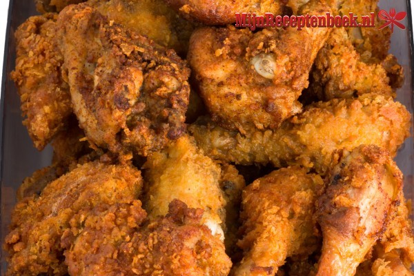 Fried chicken American style recept