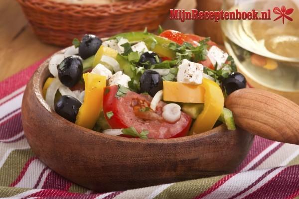Geitenkaas salade recept