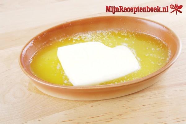 botersaus voor bij de asperges recept