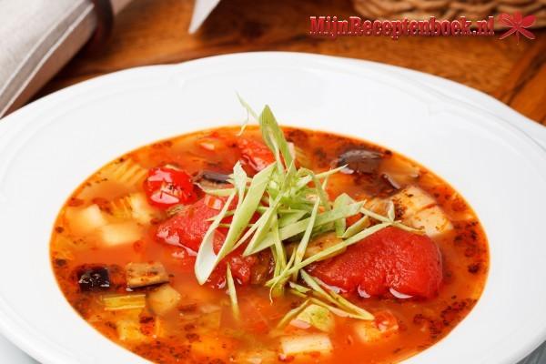 gevulde tomatensoep