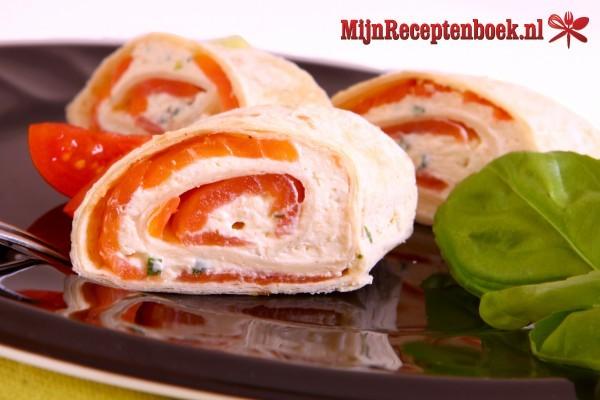 Gevulde wraps recept