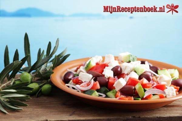 Griekse Salade (choriatiki)