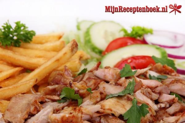 Gyros (gekruid en gegrild vlees)