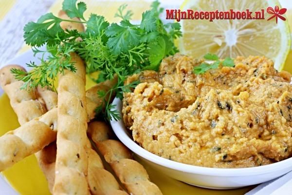 Hummus en variatie