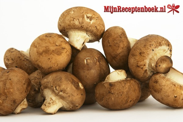 Champignons met peterselie