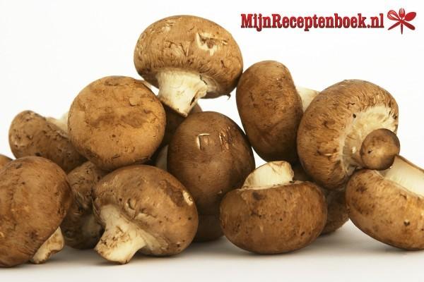 Champignonsaus recept