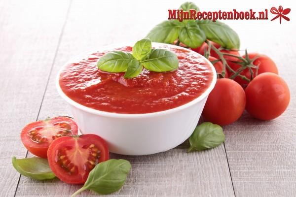 Zoete tomatendip