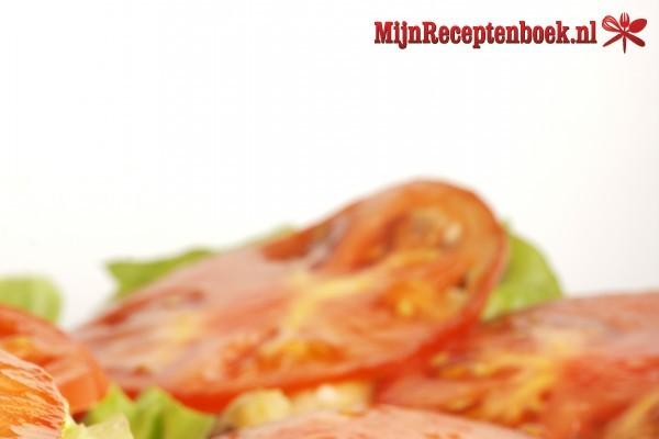 Kip in groenten tomatensaus